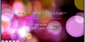 Lyric Video Creator – The Best Lyric Video Maker